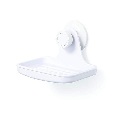 Umbra Flex Dusch Seifenhalter mit Gel-Verschluss Technologie - Seifenschale für Seifenstücke, Luffaschwämme, Baby Badeschwämme und Mehr (kein Bohren, Rostfrei)