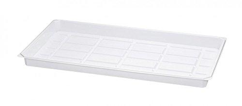 Multi Soucoupe à pot de 50 x 30 x 3 cm, pet 0,6 mm, plus voie compatible avec tous les Multi Pot de plaques