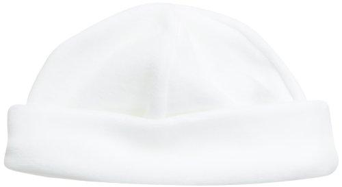 c340d119f42f Petit Bateau Maltais - Bonnet - Uni - Mixte bébé - Blanc (Écume) -