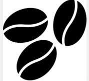 Bonusprogramm selbstfärbender Stempel–Kaffee Bohnen