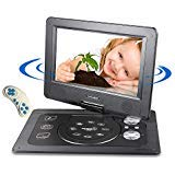 Headrest CD DVD Player Portable for Car, Auto Mobile Flip DVD Player