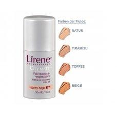 Lirene CITY MATT matting-smoothing make up - toffe (30ml)