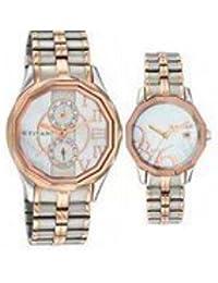 Titan Bandhan Analog Black Dial Couple's Watch - NE19622962KM01
