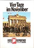 Walter Momper, Helfried Schreiter: Vier Tage im November