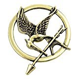 Fire Tribute Catching Kostüm - Hunger Games Mockingjay Pin Brooch Movie Inspired Badge Catching Fire Cosplay Fancy Dress Must Have