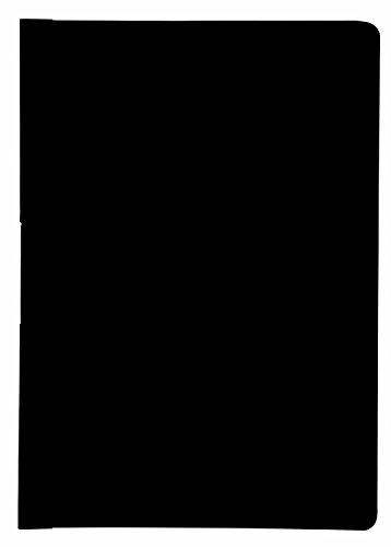 Idena 300567 - Klemmmappe DIN A4, 5 Stück, schwarz