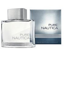 Pure Nautica for Men Gift Set - 3.4 oz EDT Spray + 2.5 oz Aftershave Balm + 2.5 oz Shower Gel