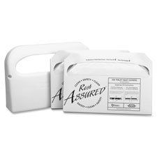 Toilet Seat Cover Set, Starter Kit,Includes Disp,250 Shts WE, Sold as 1 Each