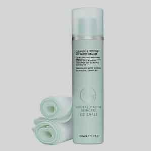 Liz Earle Cleanse & Polish Hot Cloth Cleanser 100 ml + 2 muslin cloth