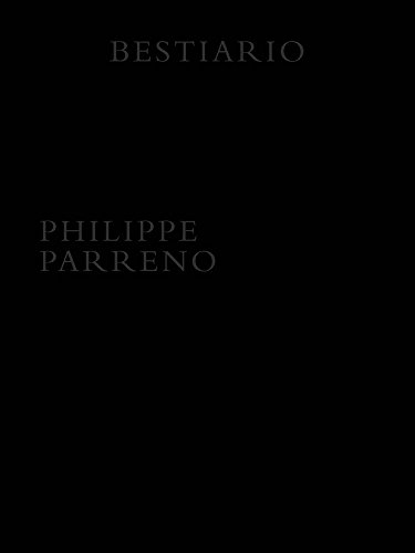 Artist book par Philippe Parreno