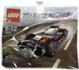 LEGO Racers Mini Set #7802 Le Mans Racer [Bagged]
