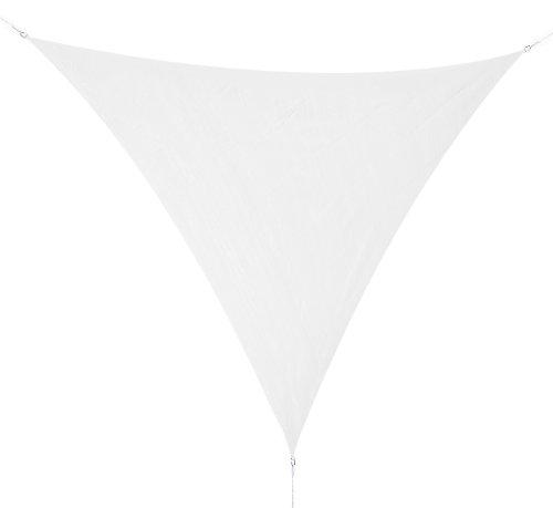 Corasol COR10TR36-WH Premium Sonnensegel 3,6 x 3,6 x 3,6 m, dreieckig, weiß