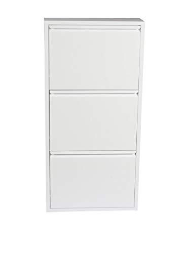 Evergreen-house scarpiera, metallo, bianco, 50 x 103 cm