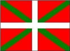 Espagne drapeau Basque-Ikurriña 150 cm x 90 cm