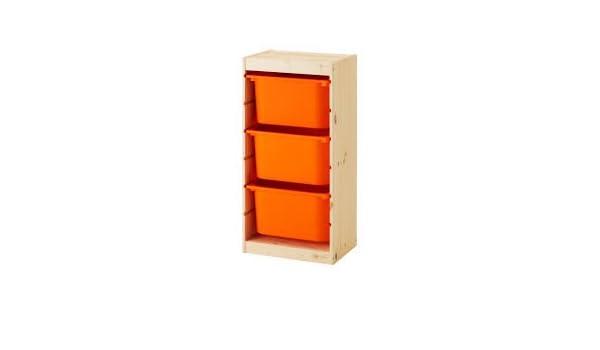 99 x 44 x 56 cm deux couleurs Combinaison TROFAST rangement combinaison avec boîtes