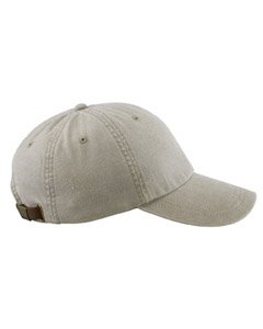 Adams Cotton Twill Classic Optimum Cap - Stone -