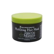 Hydrating Hair Mask Enriched with Argan Oil from Morocco - Hair Treatment for In