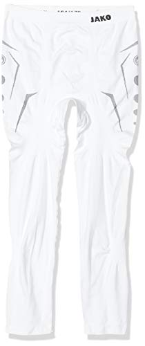 Jako Herren Long Tight Comfort , Weiß (00 White) , XL