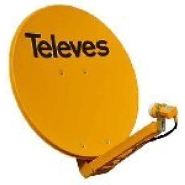 Televes 7902 - Antena parabolica Off-Set Aluminio Disco 850 ...