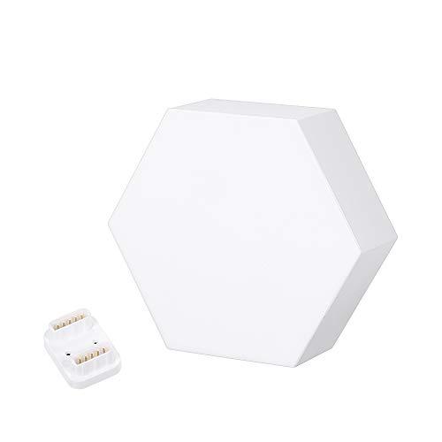 Galapara Cololight LED Modul System, 5 Watt Light Panels Rhythm Starter Kit,WiFi Smartphone App Steuerung, DIY RGB Kreative Geometriebaugruppe Smart Control-Bedienfeldleuchte Telefon-extension-kit