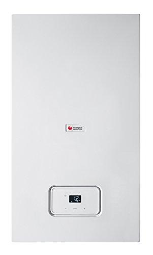 Semiatek 4 Condensing - Caldera mural de condensación instantánea  Clasificación energética HHHH (92/42/CEE) con rendimientos hasta 109,2%  Producción de agua caliente sanitaria (ACS) continua hasta 17l/min.  Solar Easy: equipadas para integración c...
