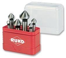 DEBUR COUNTERSINK SET, TAPER, HSS, CBN A102156 By RUKO (Debur-tool)