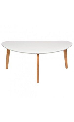 La Chaise Longue 35-1M-003M Table Basse Oaky MM Bois Blanc 96 x 48 x 40 cm