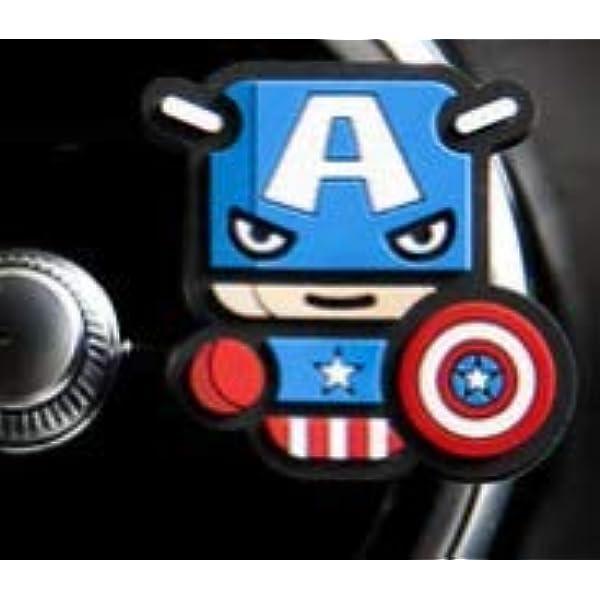Marvel Justice League Captain America Auto Lufterfrischer Drogerie Körperpflege