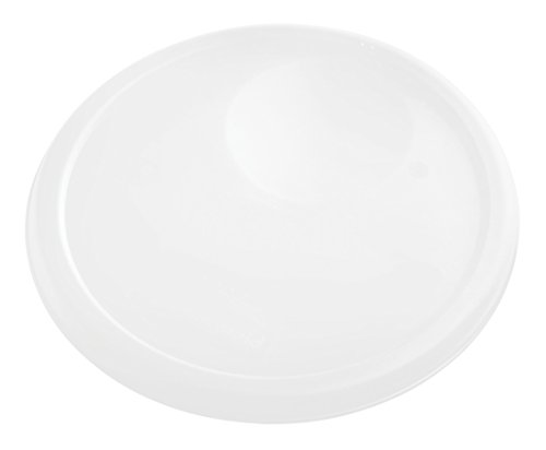 Rubbermaid Commercial Food Storage Container Lid, Round, White, 7.6 L
