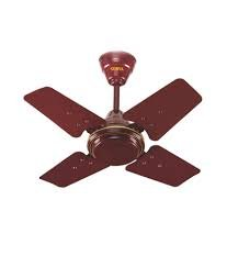 Surya Sparrow Ceiling Fan Brown