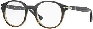 Persol unisex-adult PO3144V Brillen 47-22-145 w/Demo-Raum-Objektiv 1012 PO 3144-V Grau Gradient Grün groß