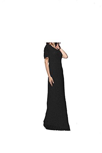 YL - Robe - Taille empire - Femme Noir