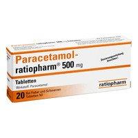 Paracetamol-ratiopharm 500 mg, 20 St