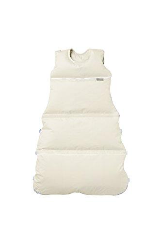 Preisvergleich Produktbild Premium Daunenschlafsack, längenverstellbar, Alterskl. ca 3-20 Monate, creme