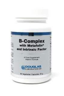 B-Komplex w/Metafolin ® und Intrinsic-Faktor (60 vegetarische Kapseln) - Douglas Laboratories -