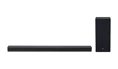 LG SK6, Negro - 2.1 Soundsystem (DTS Virtual:X, 360W, ASC, FM Radio, Drahtloser Subwoofer)