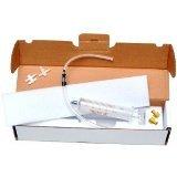 50ml DGA VERITA vetro Siringa + Tosin accessori di marca - 3 Way rubinetto di arresto + imbottita Carrying