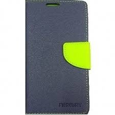 One Plus X Flip Cover Mercury Case (Blue) By First 4