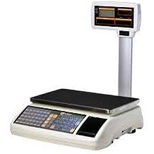 balanza bascula 3 vendedores nueva con impresora de ticket y 10000 plus
