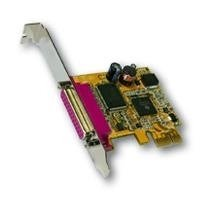 Exsys 1P Parallel EPP/ECP PCI-Express Card Interface Cards/Adapter - Interface Cards/Adapters (PCIe, Oxford ox12pci840, WHQL, 0 - 55 °C, 5 - 95%, 70 mm) -