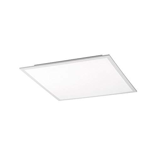 LED-Decken-Lampe, 45x45cm, 28 Watt, Wohnraum-Leuchte, Panel, flach + platzsparend, Deckenleuchte, tageslicht-weiss, Deckenlampe