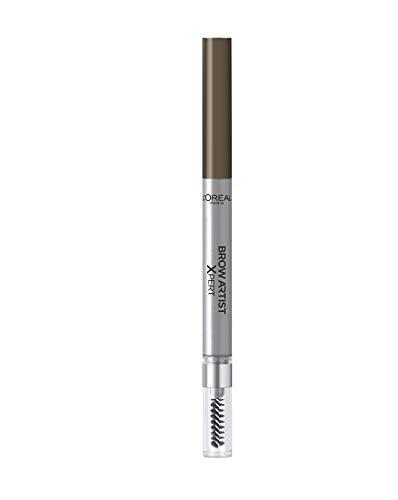L'Oréal Paris Matita Automatica per Sopracciglia Brow Artist Xpert, Risultato ad Alta Definizione, Tratto Intenso, 105 Brunette