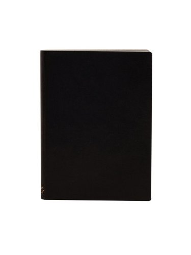 paperthinks-recycled-leather-12-x-17cm-256-page-large-ruled-notebook-black