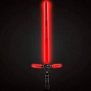 Espada Laser Luz Y Sonido Color Rojo Tamaño Grande Adultos Niños Regalar Amantes de Star Wars