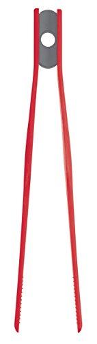 Colourworks  Silikon-Küchenzange, 26,5 cm – Rot