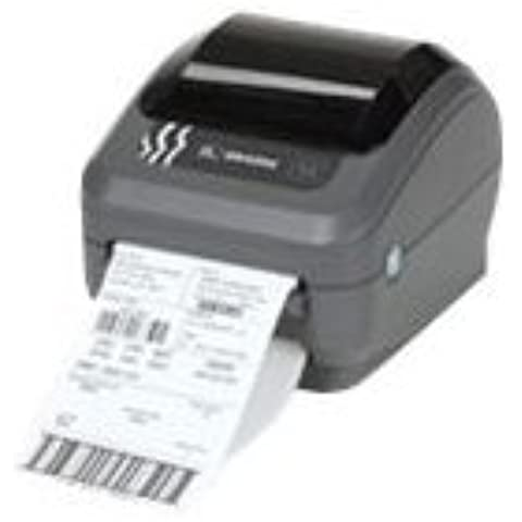 Zebra GK420d - Impresora de etiquetas (Térmica directa, 203 x 203 DPI, 127 mm/seg, Alámbrico, Ethernet, 8 MB)