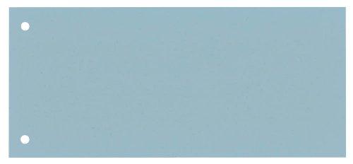 100 DONAU Trennstreifen / blau / 190 g/m² / 23,5 x 10,5 cm / für DIN A4