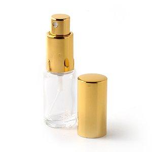 Vaporisateur de parfum de sac - Vapo de sac Verre et Or 10ml