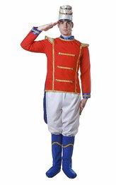 Dress Up America Deluxe Toy Soldier Kostüm für Erwachsene (Super Deluxe Spielzeug Soldat Kostüme)