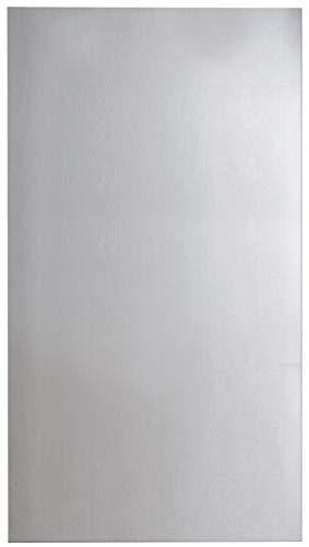 FACKELMANN Spiegel/Wandspiegel mit Befestigung/Maße (B x H x T): ca. 50 x 100 x 2 cm/hochwertiger Badspiegel/hoch und quer verwendbarer Badezimmerspiegel/Breite 50 cm